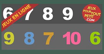 Jouer en ligne avec des numéros (6-7-8-9-10)