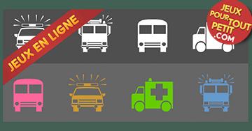 Jeux pédagogiques gratuits pour tout petit. Jeu: Glisser et déposer les véhicules! Jeux éducatifs gratuits jouables en ligne sur ordinateur, tablette, iPad et smartphone