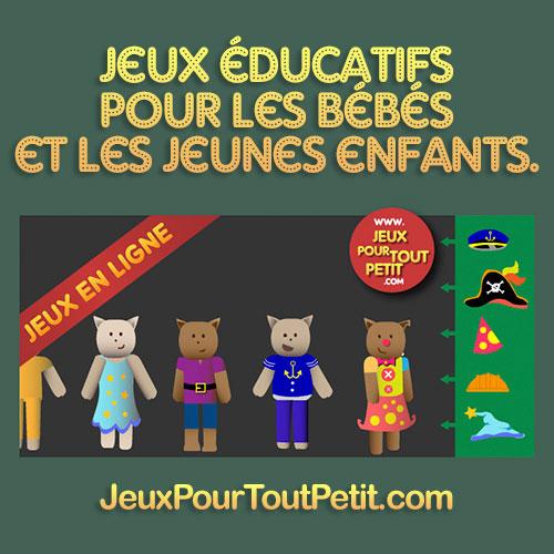 Jeux Educatifs Pour 3 4 Ans Jeux Gratuits En Ligne