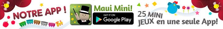 Maui Mini Jeux App Educatif pour Tout-petits et Jeunes Enfants de 2 - 3 - 4 - 5 ans