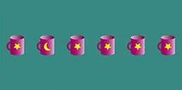 Jeux pour tout petits: Observer les différences (couleurs, positions, gestes, détails).