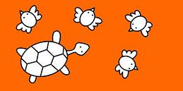 Jeux de coloriage en ligne: Peindre les petit animaux Les petits jouent, accompagnés par les mamans et les papás :)