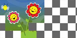 Jeux pour tout petits: Fleurs et les abeilles!