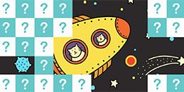 Jeux pour tout petits: Promenade dans l'espace! Les tout petits jouent, accompagnés par les mamans et les papás