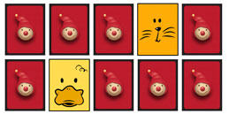 Jeux de mémoire pour tout petit: les animaux et leurs voix!!