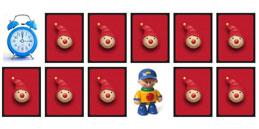 Jeux de mémoire pour enfants: Les Jouets!