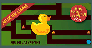 jeux de labyrinthe en ligne pour 4 ans le canard dans le labyrinthe. Black Bedroom Furniture Sets. Home Design Ideas