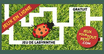 Jeux de labyrinthe en ligne pour fille la coccinelle dans - Jeux de cuisine gratuit en ligne pour fille ...