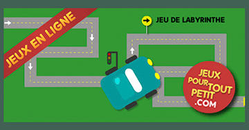 jeux de labyrinthe pour 4 ans la voiture dans le labyrinthe. Black Bedroom Furniture Sets. Home Design Ideas