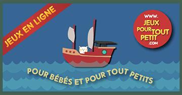 Jeux pour bébés et pour tout petits: Jeu: Promenade dans la mer!